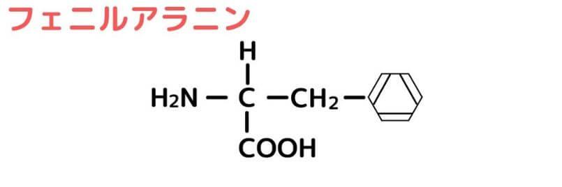 芳香族アミノ酸のAAA